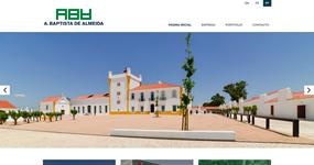 screenshot of the project A. Baptista de Almeida