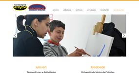 screenshot of the project Apojovi - Aposénior