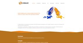 screenshot of the project Coblex