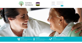screenshot of the project Coimbra Gerapoio
