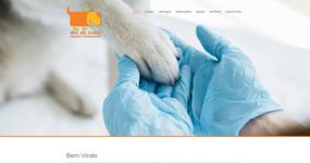 screenshot of the project Centro Veterinário Vale das Flores