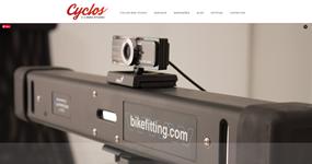 screenshot of the project Cyclos Bike Studio