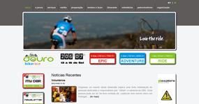 screenshot of the project Douro Bike Race 2012