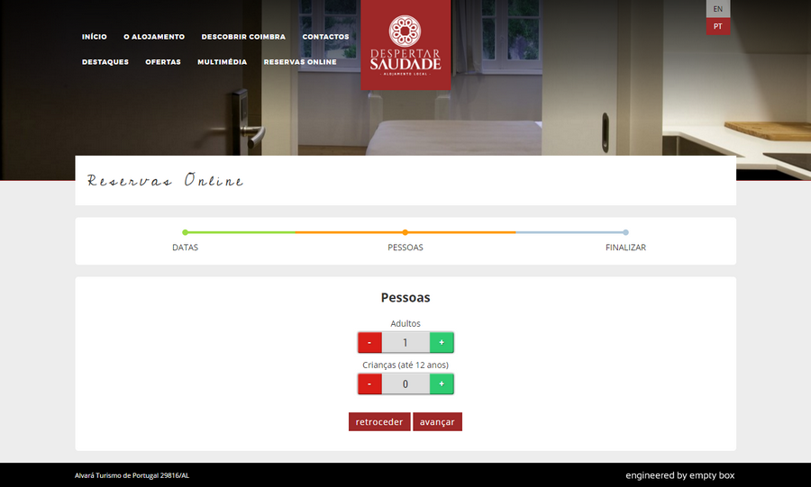 screenshot of the project