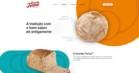 screenshot of the project Grande Forno