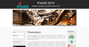 screenshot of the project iFireSS 2015