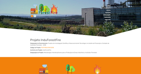 screenshot of the project InduForestFire