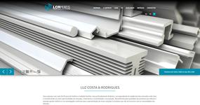 screenshot of the project Luz Costa & Rodrigues