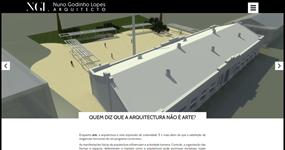 screenshot of the project Nuno Godinho Arquitecto