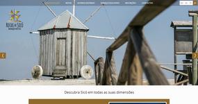 screenshot of the project Rotas de Sicó