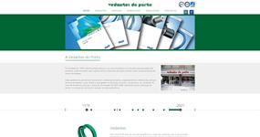 screenshot of the project Vedantes do Porto
